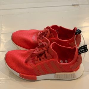 NWT NMD_1 Authentic Adidas Coral/ Reddish US S 8